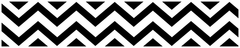 Chevron Black and White Wallpaper Border by Sweet Jojo Designs