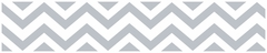 Chevron Gray and White Wallpaper Border by Sweet Jojo Designs