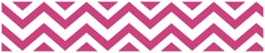 Chevron Pink and White Wallpaper Border by Sweet Jojo Designs