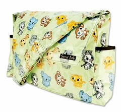Chibi Zoo Animal Messenger Diaper Bag by Trend Lab