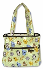 Chibi Zoo Tulip Tote Diaper Bag by Trend Lab