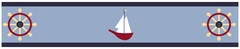 Come Sail Away Wallpaper Border By Sweet Jojo Designs