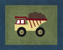 Construction Zone Accent Floor Rug by Sweet Jojo Designs