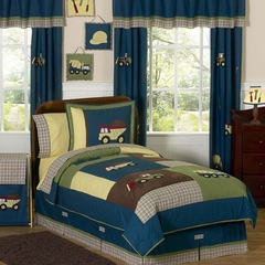 Construction Zone - Kids Bedding 4 Piece Twin Set