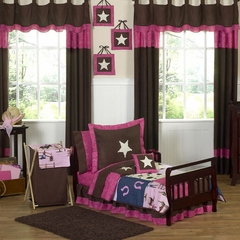 Cowgirl Western Toddler Bedding Set