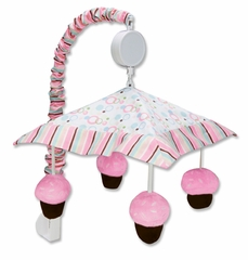 Cupcake Crib Mobile by Trend Lab