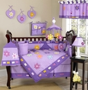 Daisy Flower Baby Bedding - 9 Piece Crib Set