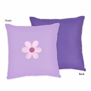 Daisy Flower Decorative Accent Throw Pillow