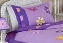 Daisy Flower Pillow Sham by Sweet Jojo Designs
