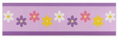 Daisy Flower Wall Paper Border By Sweet Jojo Designs