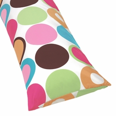 Deco Dot Polka Dots Collection Body Pillow Cover