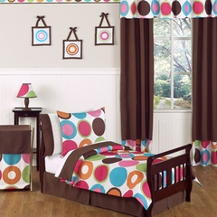 Deco Polka Dot Modern Bedding -Toddler Bedding Set