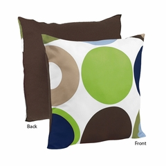 Designer Dot Large Polka Dot Decorative Accent Throw Pillow