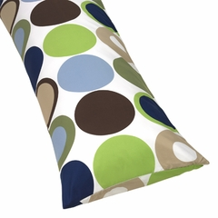 Designer Dot Large Polka Dot Full Length Body Pillow Cover