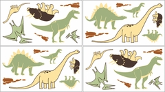 Dinosaur Land Wall Decals - Set of 4 Sheets by Sweet Jojo Designs