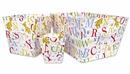 Dr. Seuss ABC 3 Piece Fabric Storage Bins