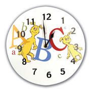 Dr. Seuss  ABC Wall Clock