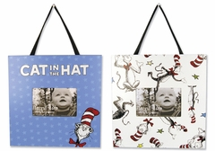 Dr. Seuss Cat in the Hat 2pc Frame Set by Trend Lab
