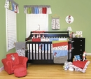 Dr. Seuss Cat in the Hat 3 Pc Crib Baby Bedding Set - Trend Lab