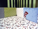 Dr. Seuss Cat in the Hat Crib Bumper by Trend Lab