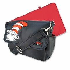 Dr. Seuss Cat in the Hat Messenger Diaper Bag