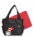 Dr. Seuss Cat in the Hat Tulip Tote Diaper Bag