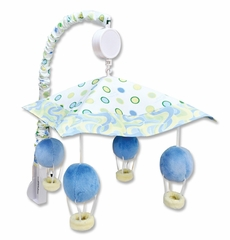 Dr. Seuss Oh! the Places You'll Go Blue Crib Mobile