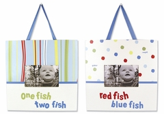 Dr. Seuss One Fish Two Fish 2pc Frame Set by Trend Lab