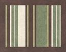 Ethan Green and Brown Accent Floor Rug