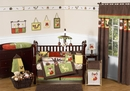 Forest Friends Woodland Animals Baby Bedding - 9 Pc Crib Set