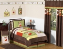 Forest Friends Woodland Animals Bedding - Kids Twin 4 Pc Set