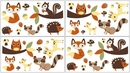 Forest Friends Woodland Animals Wall Decals by Sweet Jojo Designs