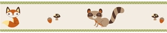 Forest Friends Woodland Animals Wallpaper Border Sweet Jojo Designs