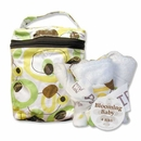 Giggles Bottle Bag and Bib Set