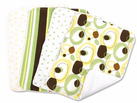 Giggles Burp Cloth Set