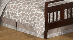 Giraffe Collection Toddler Bed Skirt by Sweet Jojo Designs