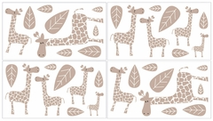 Giraffe Wall Decals by Sweet Jojo Designs