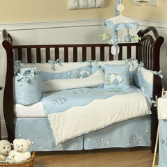 Go Fish Ocean Baby Bedding - 9 Piece Crib Set