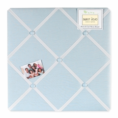 Go Fish Ocean Collection Blue Fabric Memo Board