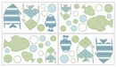 Go Fish Ocean Wall Decals - Set of 4 Sheets by Sweet Jojo Designs