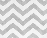 Gray and White Chevron Accent Floor Rug Zig Zag Turquoise Collection