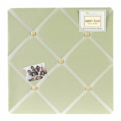 Green Dragonfly Dreams Collection Fabric Memo Board