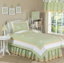 Green Dragonfly Dreams - Kids Bedding 4 Piece Twin Set