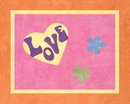 Groovy Love Accent Floor Rug by Sweet Jojo Designs
