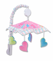 Groovy Love Peace Sign Crib Mobile by Trend Lab