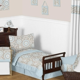 Hayden Blue Toddler Bedding Set by Sweet Jojo Designs