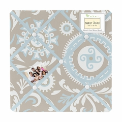 Hayden Medallion Fabric Memo Board by Sweet Jojo Designs