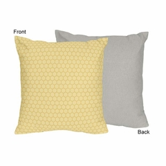 Honey Bee Collection Decorative Accent Throw Pillow