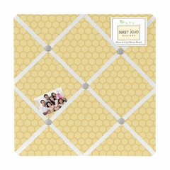 Honey Bee Collection Fabric Memo Board