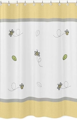 Honey Bee Shower Curtain by Sweet Jojo Designs